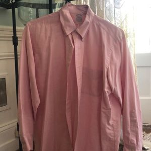 Brooks brothers Men's pink button down